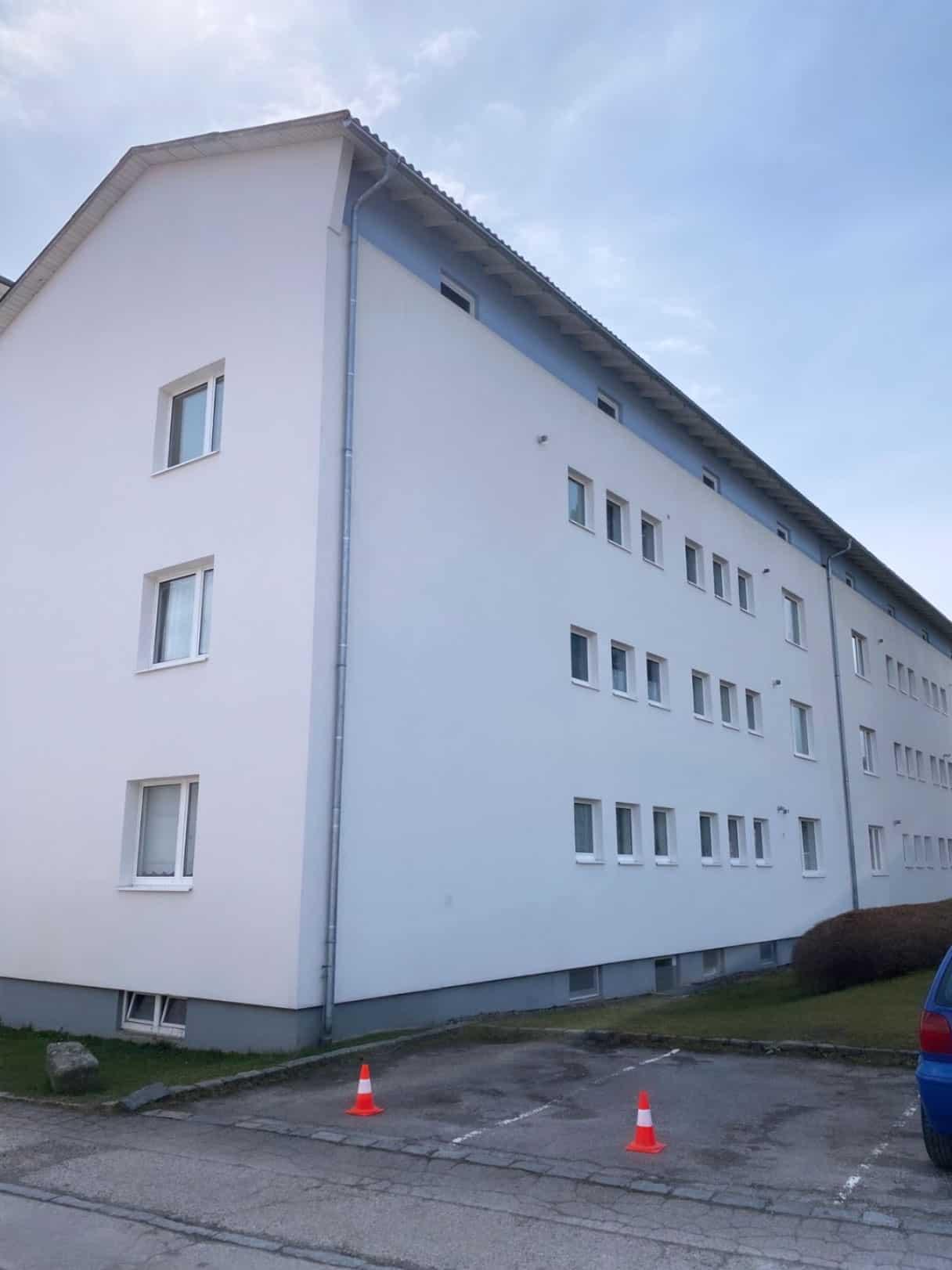 fertige Fassadenreinigung