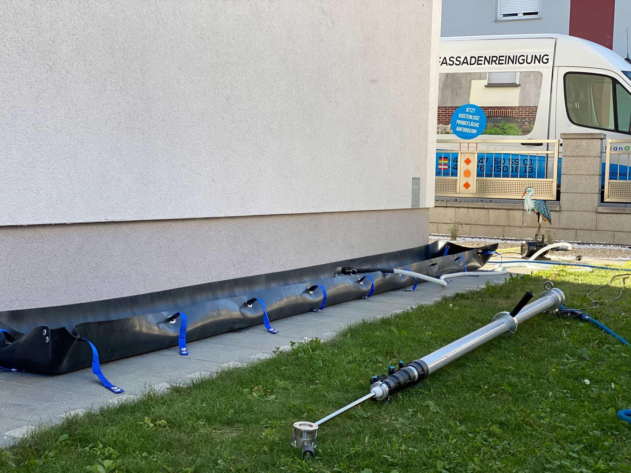Fassadenreinigung Wasser Aufbereitung